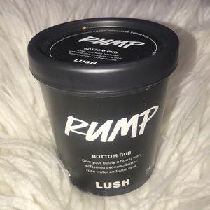 "LUSH Beauty ""Rump-Bottom Rub"""